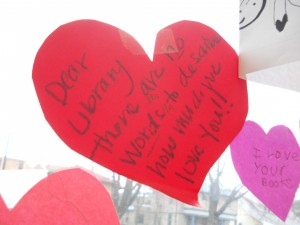 "Missoula Public Library ""Wall of Love"""