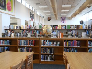 Hellgate High School library