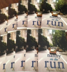 NANNY ON THE RUN Goodreads giveaway